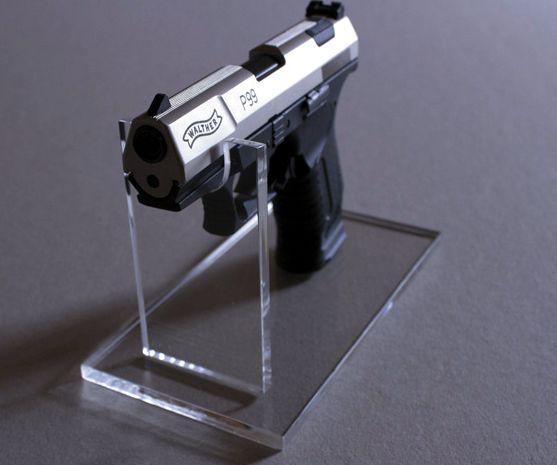 fegyverállvány, plexi
